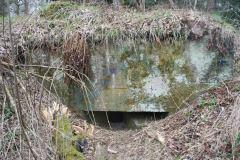 schrony bojowe w Leśnictwie Borki