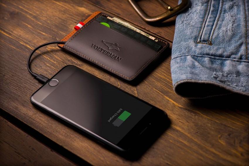 Bezpieczny portfel z GPS-em, alarmem i kamerą