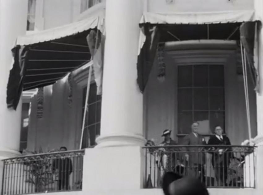 Ujawniono rzadkie nagranie chodzącego Roosevelta