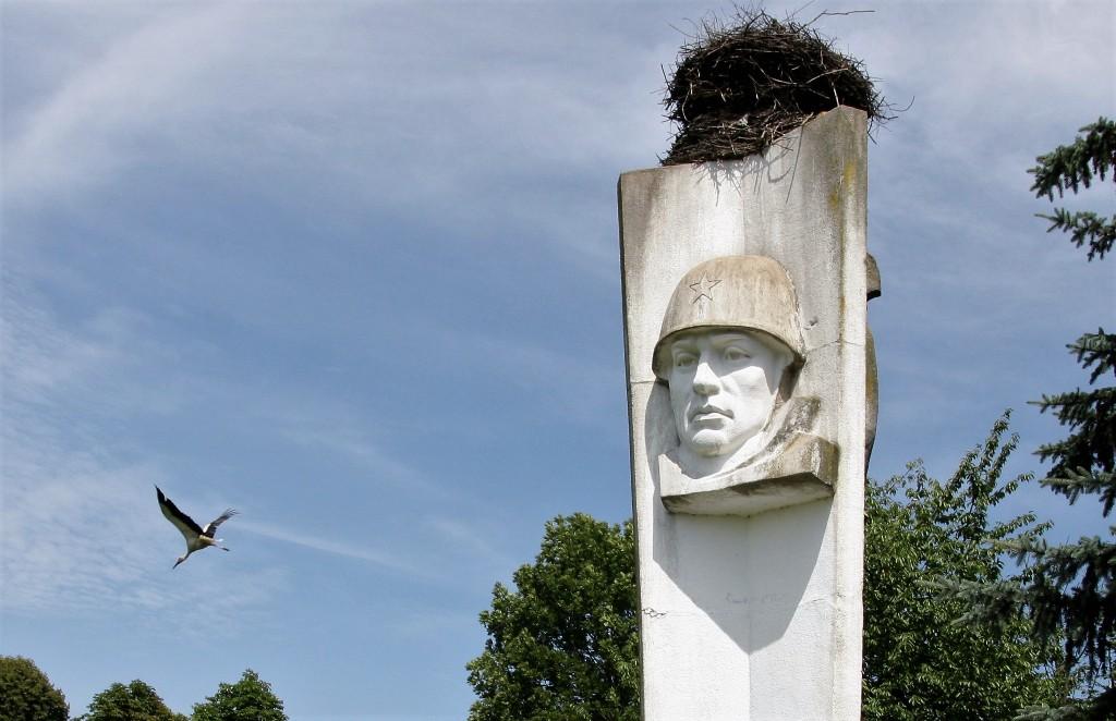 """""""Wodza"""" z  Bornego Sulinowa  żołnierze rosyjscy zabrali z sobą"""